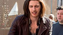 Hozier shows off his newly straightened hair