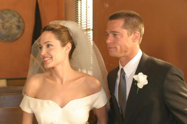 I Feel Great I M Glowing Brad Pitt Gushes After Angelina Jolie Wedding Independent Ie
