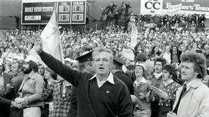 Dublin manager Kevin Heffernan pictured following their All-Ireland win over Galway in 1974. Photo: Matt Walsh