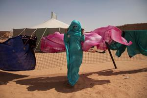 The nomadic women of the Sahara Picture: Clare Keogh