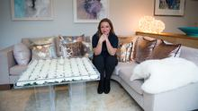 Norah Casey's abode was crowned RTE's Celebrity Home of the Year. Photo Credit: RTE