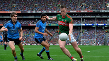 Eight of the points were from frees by Cillian O'Connor, pictured, and one by defender Lee Keegan, leaving Diarmuid O'Connor as the only forward to score from open play up to then. But then they were playing so deep, it was no great surprise