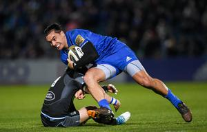 Leinster's James Lowe. Photo by Ramsey Cardy/Sportsfile