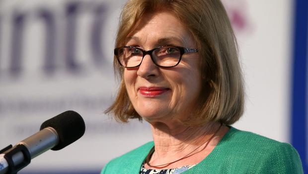 Education Minister Jan O'Sullivan led the message of good luck to candidates
