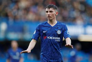 Billy Gilmour was man of the match in Chelsea's 4-0 win over Everton. Action Images via Reuters/Matthew Childs.