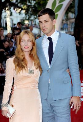 LONDON, ENGLAND - SEPTEMBER 02:  Josephine de La Baume and Mark Ronson attends the Rush World Premiere at Odeon Leicester Square on September 2, 2013 in London, England.  (Photo by Stuart C. Wilson/Getty Images for StudioCanal)