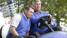 Fan favourite: Darren Clarke (right) is one of the main contenders Photo: REUTERS