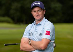 Paul Dunne hopes to start his road to redemption at the British Masters next week which he won in 2017. Photo: INPHO