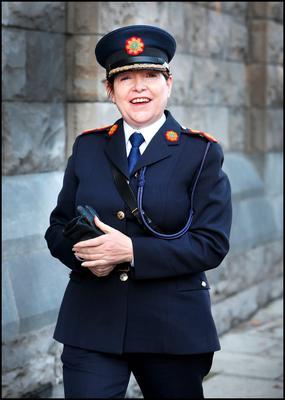 Noirin O'Sullivan, Interim Garda Commissioner, at the Mass marking the occasion of the beginning of the new legal year. Photo: Steve Humphreys.