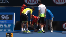 Feliciano Lopez's serve caused more damage than intended