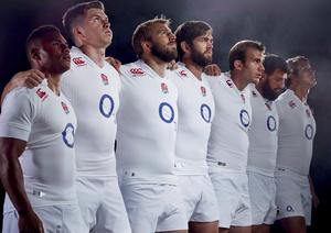 England will wear the new kit against the All Blacks on November 8th