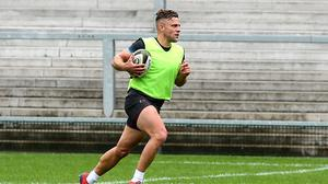 Ian Madigan is hoping to make his Ulster debut against Connacht on August 23. Robyn McMurray for Ulster Rugby via Sportsfile