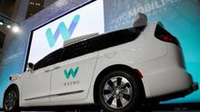 Waymo unveils a self-driving Chrysler Pacifica minivan during the North American International Auto Show in Detroit, Michigan, US, January 8, 2017.  REUTERS/Brendan McDermid
