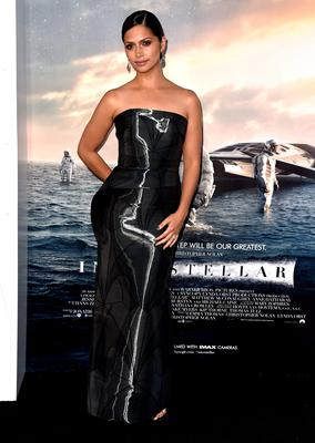 """Model Camila Alves McConaughey attends the premiere of Paramount Pictures' """"Interstellar"""" at TCL Chinese Theatre IMAX"""