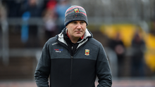 3 February 2019; Mayo manager James Horan before the Allianz Football League Division 1 Round 2 match between Tyrone and Mayo at Healy Park in Omagh, Tyrone. Photo by Oliver McVeigh/Sportsfile