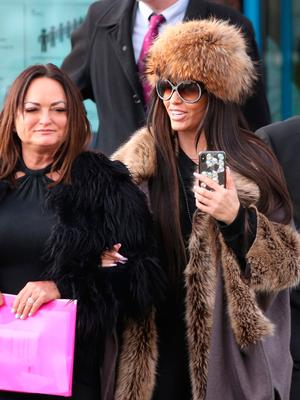 Katie Price leaves Crawley Magistrates' Court Photo: Andrew Matthews/PA Wire