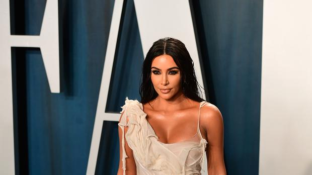 Kim Kardashian West said she broke down in tears after five-year-old son Saint fractured his arm (Ian West/PA)