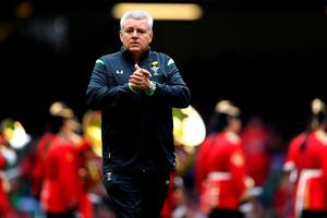 CARDIFF, WALES - MARCH 14:  Warren Gatland the head coach of Wales looks on prior to kickoff during the RBS Six Nations match between Wales and Ireland at The Millennium Stadium on March 14, 2015 in Cardiff, Wales.  (Photo by Michael Steele/Getty Images)