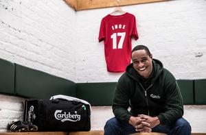 Old Trafford legend Paul Ince was in Dublin yesterday on a promotional trip with Carlsberg
