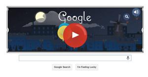DeBussy recognised by Google Doodle