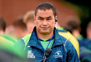 Connacht head coach Pat Lam is glad to have the experience of Robbie Henshaw and Kieran Marmion in his team this week. Matt Browne / SPORTSFILE