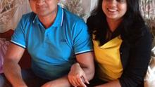 Praveen Halappanavar with his late wife Savita