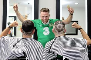 Dublin barber Sam Donnelly has some skill with a blade