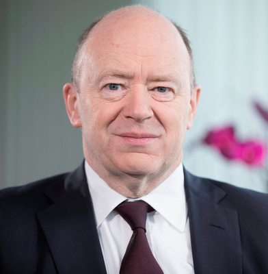 Set to tap up shareholders: The bank's CEO John Cryan Photo: Jason Alden/Bloomberg