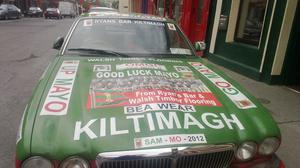 Kiltimagh businesses supporting Mayo team 2013.