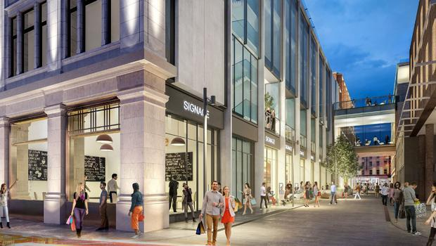 A peek at the proposed development for Clery's Building
