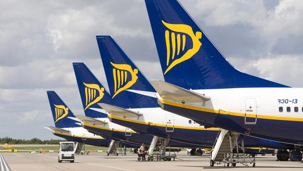 Industrial action: Ryanair was forced to cancel flights. Photo: Bloomberg