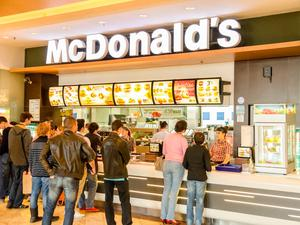 A branch of fast-food giant McDonald's  Photo: Stock Image