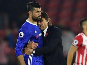 Conte has not decided whether Costa will start yet. Getty