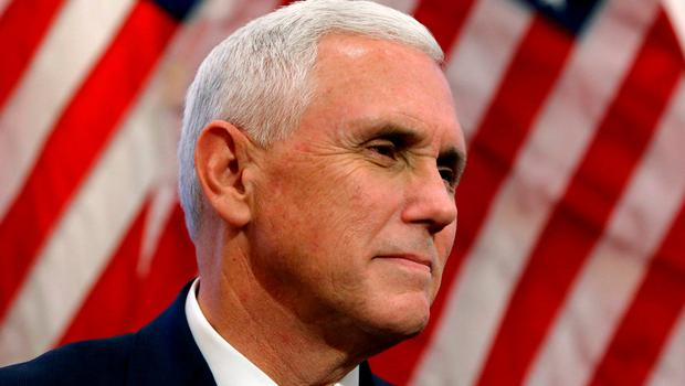 US vice president Mike Pence.     Photo: Reuters
