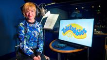 Jane Horrocks during the voice recording for Teletubbies as TV show Teletubbies is returning to the small-screen with the addition of a must-have 21st century gadget (Jon Cartwright/PA Wire)