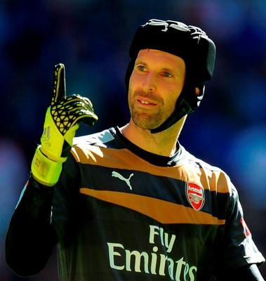 Petr Cech: 'A leader in the dressing-room as well'. Photo: Andrew Matthews/PA Wire.