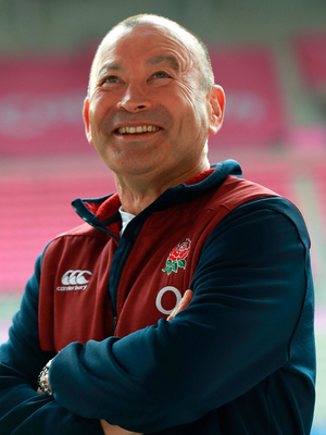Eddie Jones always talks about coaching the perfect game. Photo: David Rogers/Getty Images