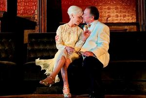 HAPPY EVER AFTER: Owen Roe on stage with Olwen Fouere in 'A Tender Thing', a play by Ben Power