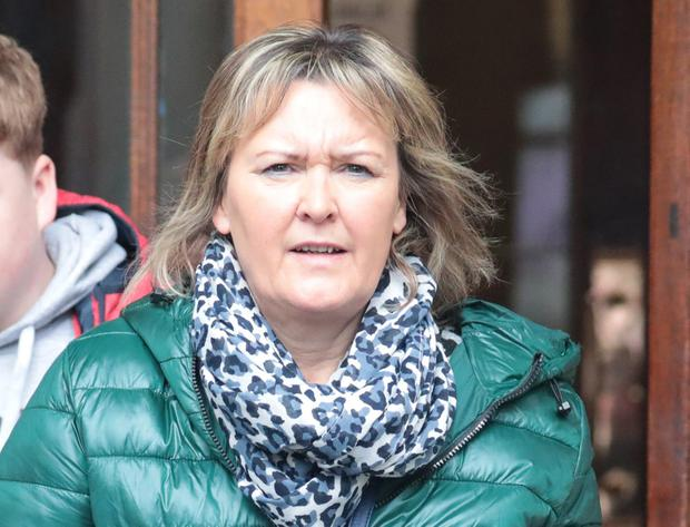 Mother: Karen Cotter, who sued on behalf of her son William. Photo: Collins