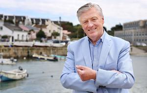Dalkey resident Pat Kenny. Photo: Steve Humphreys
