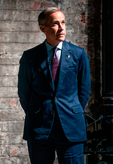 Bank of England governor Mark Carney, three of whose grandparents hailed from Mayo, has held Irish citizenship for almost three decades. Photo: Bloomberg