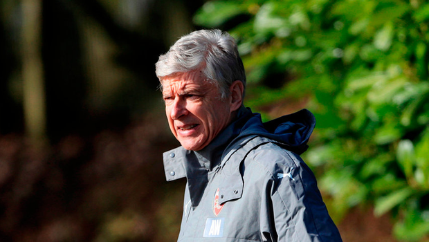 Arsenal manager Arsene Wenger during a training session at the Arsenal Training Centre, London Colney. PRESS ASSOCIATION Photo. Picture date: Monday March 6, 2017. See PA story SOCCER Arsenal. Photo credit should read Tim Goode/PA Wire.