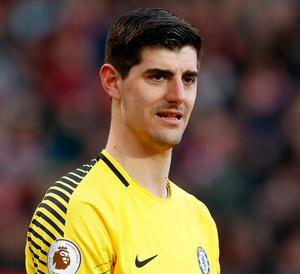 Thibaut Courtois: determined to move. Photo: Martin Rickett/PA Wire