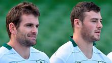 Jared Payne and Robbie Henshaw have been paired together in the Ireland midfield to face South Africa as Joe Schmidt looks ahead to next year's World Cup. Picture credit: Matt Browne / SPORTSFILE