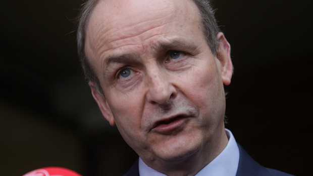 TALK IS CHEAP: Taoiseach Micheal Martin failed to inspire us again last week with his content-free address to the nation. Photo: Gareth Chaney