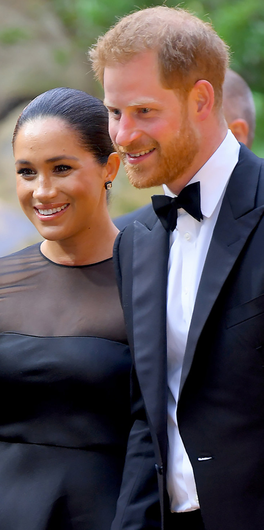 Head in the clouds: Meghan and Harry