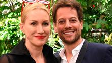 Speaking out: Alice Evans with husband actor Ioan Gruffudd. Photo: Stephen Lovekin/WWD/REX/Shutters