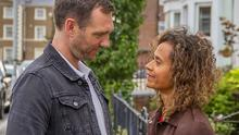 Joe (Tom McKay) and Lisa (Angel Coulby) find some love in the afternoon