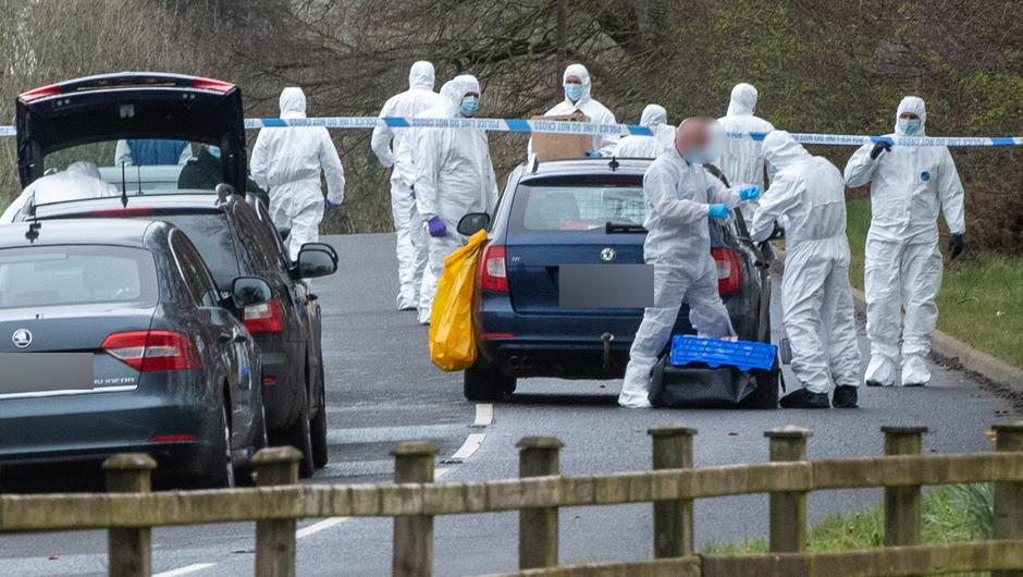 A police woman was targeted in Dungiven