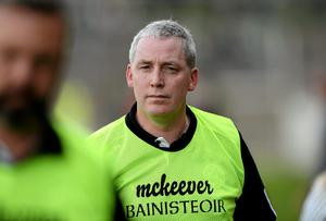 Omagh St. Endas manager Laurence Strain realises the scores will come at a premium against Derry champions Slaughtneil as both clubs seek to win the Ulster club championship for the first time. Photo: Oliver McVeigh / SPORTSFILE